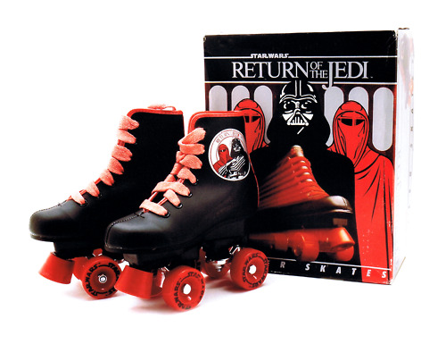Roloff de Jeu - Return of the Jedi rolschaatsen